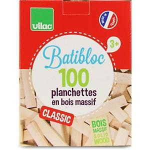 Batibloc naturel 100 pcs - VILAC
