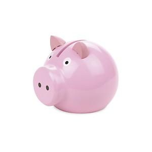 Tirelire cochon rose
