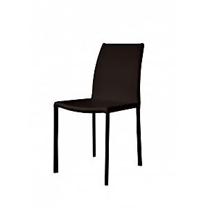 Lot de 2 chaises Monte Carlo en cuir rec