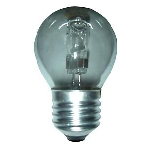 Ampoule halogène Sphérique E27 - 28W