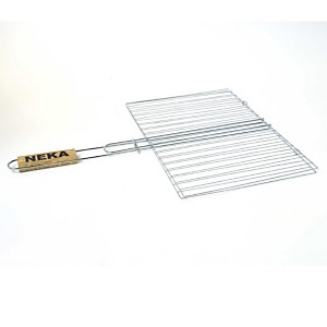 Grille barbecue double - 30 x 40 cm - Mé