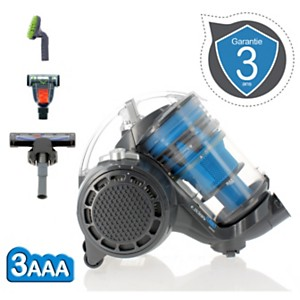 Aspirateur sans sac e.ziclean Turbo Multi-Floors