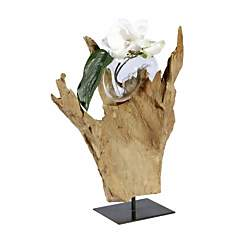 Vase Mini-Wave en Teck  Joe Sayegh