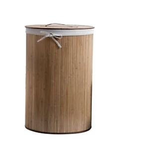 Panier à linge rond  « Bambou  »