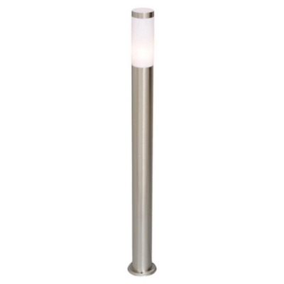 Lampe de jardin tube en métal