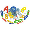 Plafonnier pour enfants lettres de l'alphabet multicolore
