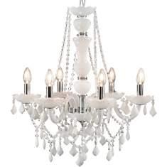 Lustre Trianon blanc