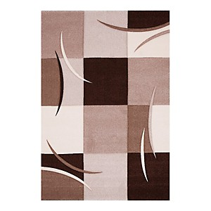 Tapis de salon marron California AlloTapis