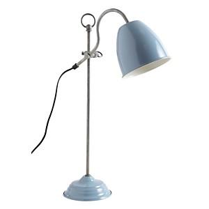 Lampe de bureau en métal laqué