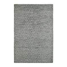 Tapis scandinave en laine graphite Mando
