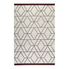Tapis en laine scandinave Hexagon Esprit