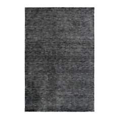 Tapis en laine uni gris Lainus Deladeco