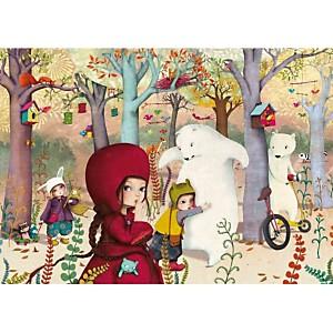 Rencontre en forêt
