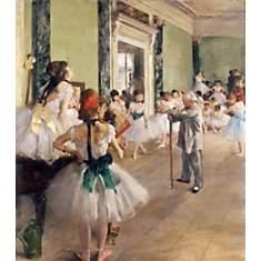 La classe de danse de DEGAS