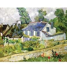 Maisons à Auvers de VAN GOGH