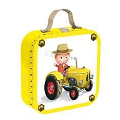 4 Puzzles Fleurus tracteur