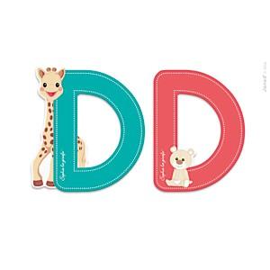 Lettre D Sophie la Girafe