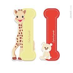 Lettre I Sophie la Girafe