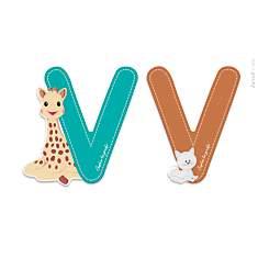 Lettre V Sophie la Girafe