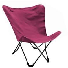 Lot de 2 fauteuils en acier et toile Apo
