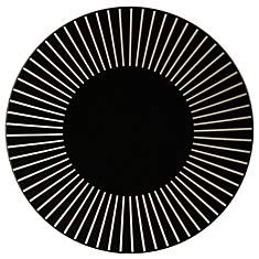 Assiette plate  Sun