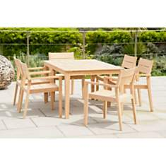 Ensemble table et 6 fauteuils Tivoli en