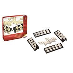 Dominos triangulaires - coffret métal CA