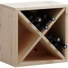 Casier de rangement 16 bouteilles en epi