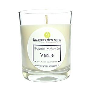 Bougie parfumée à la vanille aux huiles