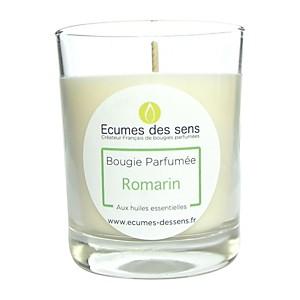 Bougie parfumée au romarin aux huiles es