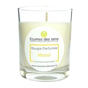 Bougie parfumée au monoï aux huiles esse
