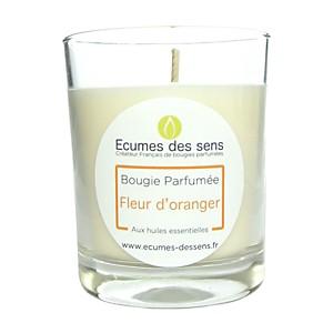 Bougie parfumée à la fleur d'oranger au