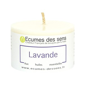 Bougie Parfumée Lavande - Votive 100g