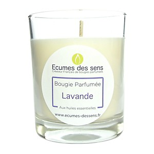 Bougie parfumée à la lavande aux huiles
