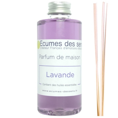 Parfum de maison senteur Lavande enrichi en huiles essentielles