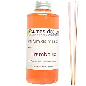 Parfum de maison senteur Framboise enrichi en huiles essentielles
