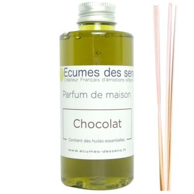Parfum de maison senteur Chocolat enrichi en huiles essentielles
