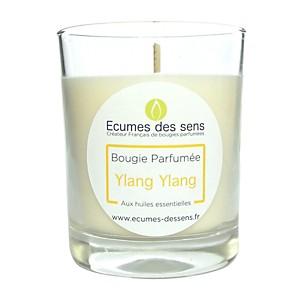 Bougie parfumée au ylang-ylang aux huile