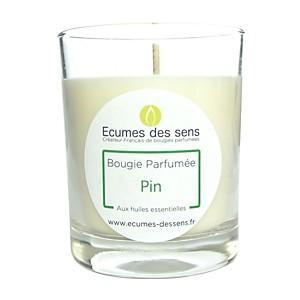Bougie parfumée pin aux huiles essentiel