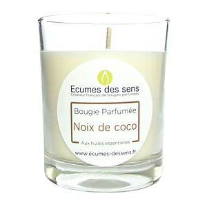 Bougie parfumée à la noix de coco aux h