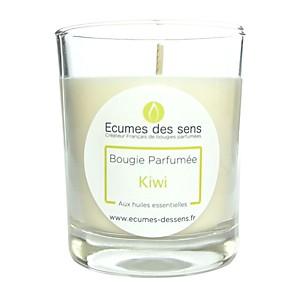 Bougie parfumée au kiwi aux huiles essen