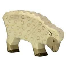 Mouton, mangeant