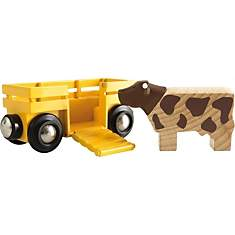 Wagon transport de bétail