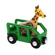 Wagon transporteur de girafe