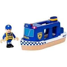 Bateau patrouille de police