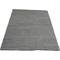 Tapis gris clair en laine Auckland VIVAB