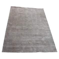 Tapis en laine gris clair Maori VIVABITA