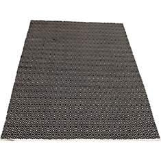 Tapis en coton noir et blanc Diamond VIV