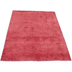 Tapis en laine vintage rouge Bamboo VIVA