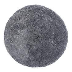 Tapis rond tufté main gris Nevio DELADEC